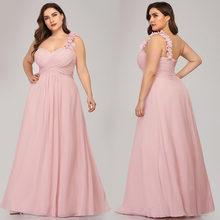 Элегантное платье подружки невесты, длинное милое на одно плечо, гофрированный цветок, специальное платье для свадьбы размера плюс(Китай)