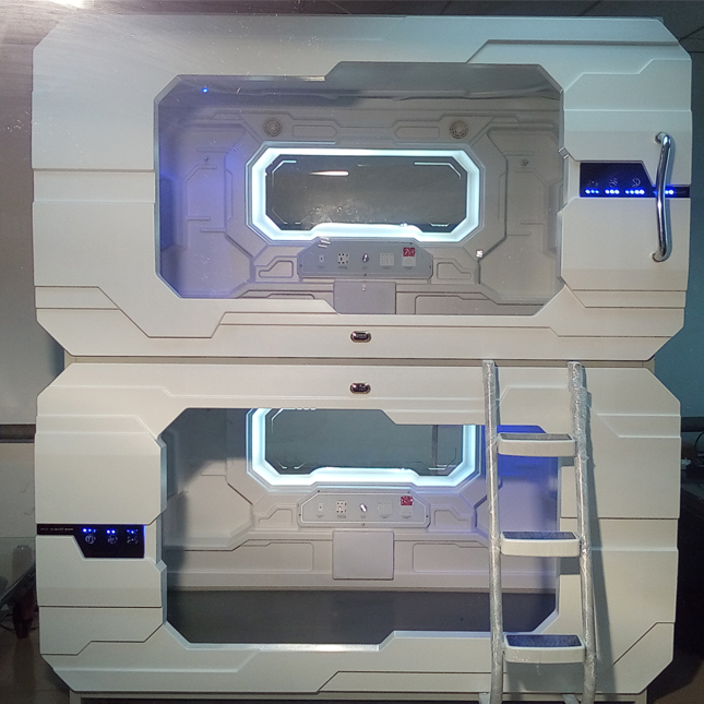 Modern Container House ABS Capsule Hotel Sleeping Pods