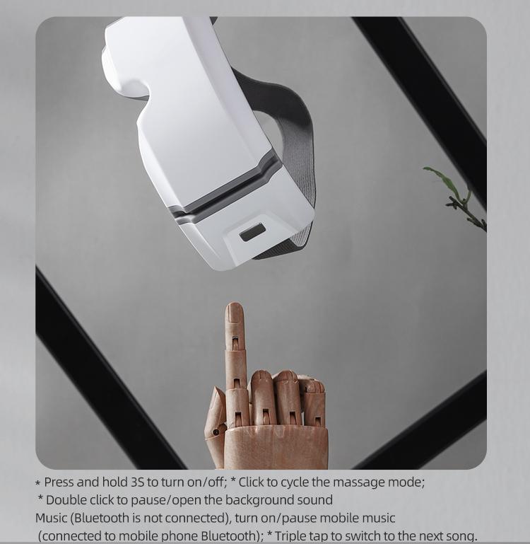 Ensobo — stylo de massage électrique pour les yeux, masseur de soins avec instrument thermique, guan