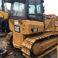 used cat d5k bulldozer low price/Used for Caterpillar d3 d4 d5 d6 d7 d8/original cat d5k bulldozer