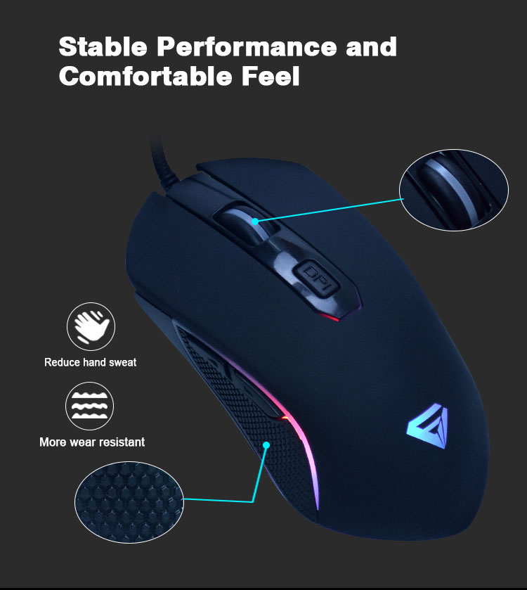 Hot Sale LED Optical 7D USB Gaming Mouse Gamers