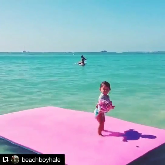 3 Layers XPE Lake Fun Floating Carpet Water Mat Foam Play Pad Gym Yoga Mat