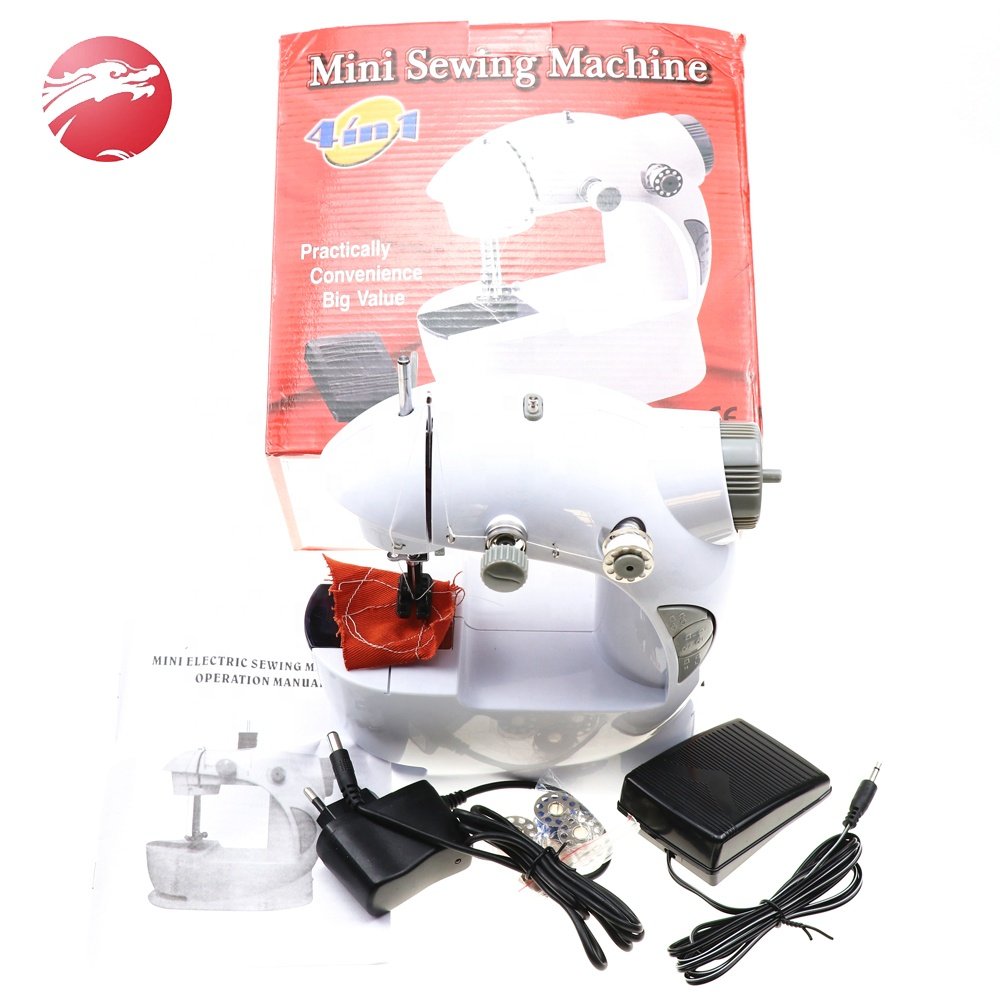 Double Speed Household Electric Cheap China Overlock Sewing Machine Mini