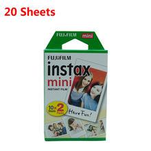 10-300 листов Fujifilm Instax Mini белая пленка мгновенная фотобумага для fuji Instax Mini 8 9 7s 9 70 25 50s 90 камера SP-1 2(Китай)