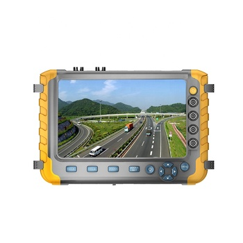 5MP AHD TVI CVI CVBS Camera Video Audio CCTV Tester With PTZ Control And Network Cable Test Function