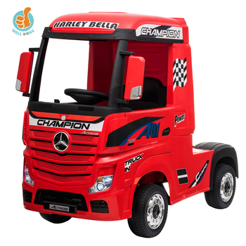 2020 Licensed Kids Mercedes Benz Actros Lorry Children Electric Car Kids Ride On Baby Toys Car With RC