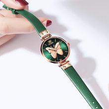 OLEVS женские часы Топ люксовый бренд Vivid бабочка часы Модные Кварцевые женские сетки из нержавеющей стали водонепроницаемые подарочные часы ...(Китай)