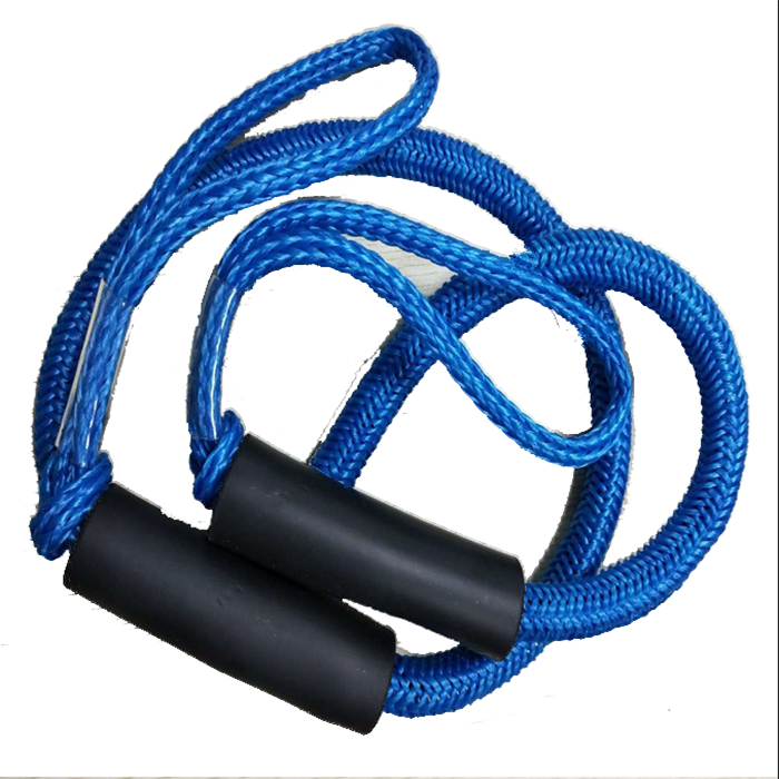 Factory directly wholesale bungee dock line regular size4-5.5ft 5-7ft 6-9ftboat accessory mooring rope for boat,jet ski,kayak