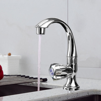 China factory Kitchen bathroom accessories Plastic ABS Faucet Water taps