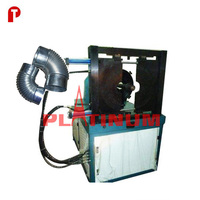hydraulic corrugated elbow forming making machine for chimney