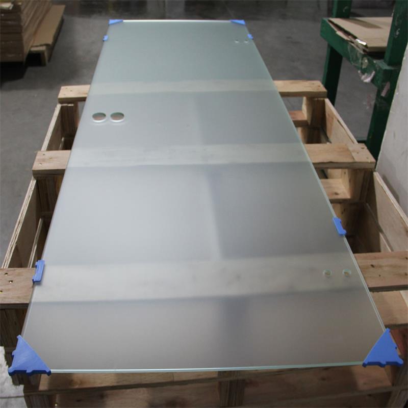Tempered Door Panels Acid Etched Glass