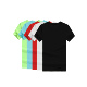 Wholesales Cheap Men Shirt Sublimation Custom Printing Brand Logo Color Round Neck T-shirts