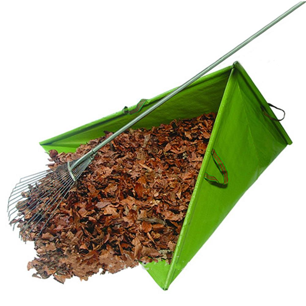 Collapsible Eco-friendly PE Triangle Garden collected Leaf Bag