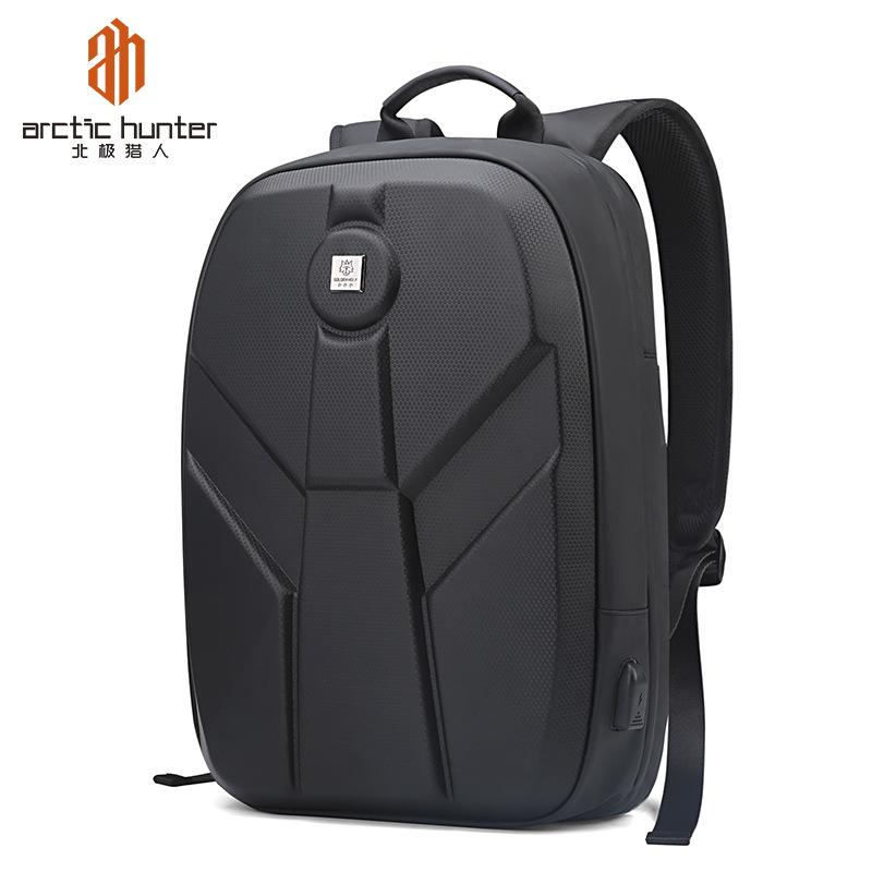 CHASSEUR ARCTIQUE Mode concis multifonction en plein air aventure sac à dos de randonnée sac de voyage à coque dure avec charge USB sac à dos