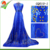 Queency Christmas big promotion george lace indian george fabric clothing with sequin china factory