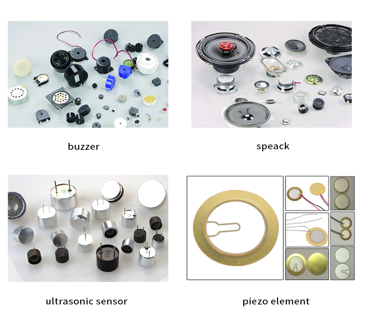 De Sonido zumbador piezoeléctrico electrónica 3v