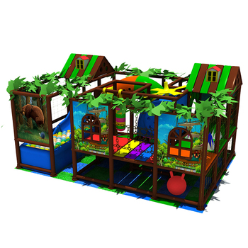 Brand Vendor Security Environmental Friendly Indoor Playground with Customized Design