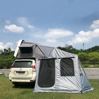 2019 newest good quality cheap Canvas Camping hard shell roof top tent for car