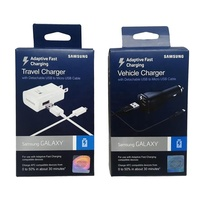 Hanging USB Cell Phone Cable Retail Package box with hang hole
