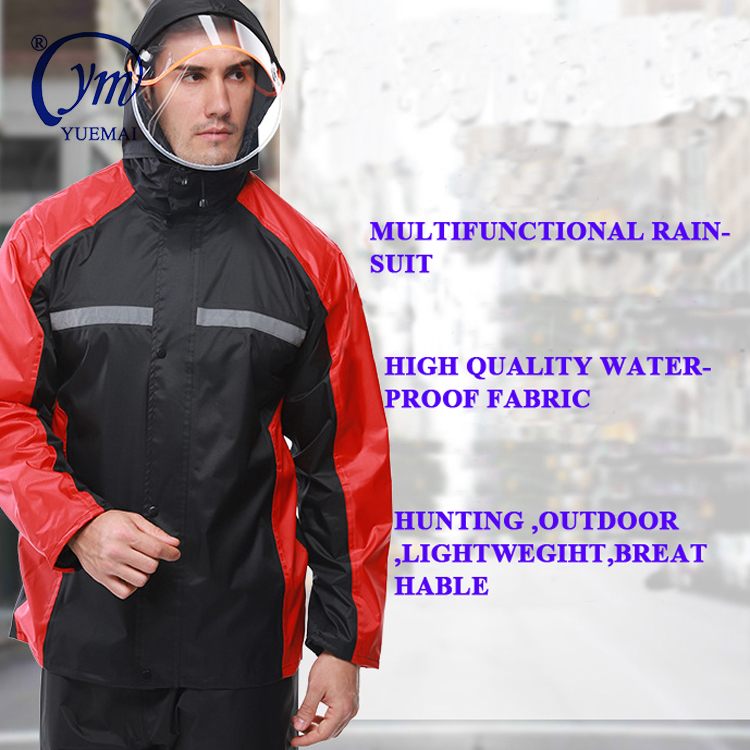 Tactical Combat Police raincoat safety waterproof raincoat suits military waterproof rain suits army rainwears