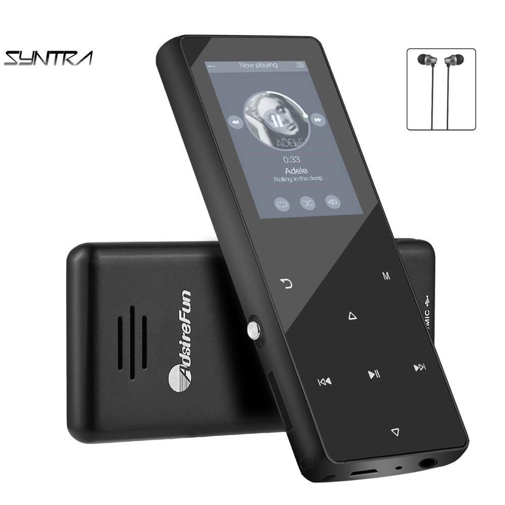ADSIREFUN K1 HIFI <strong>bluetooth</strong> <strong>MP3</strong> <strong>Player</strong> 2.4 Inch screen ROM 32 GB Battery 450 mAh with FM Radio for sale