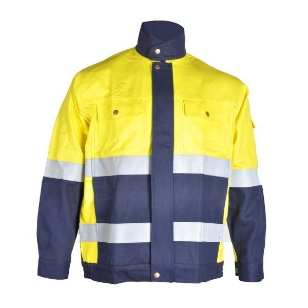 250gsm modacrylique PTFE stratification FR ignifuge coupe-vent hiver lourd isolé veste vêtements