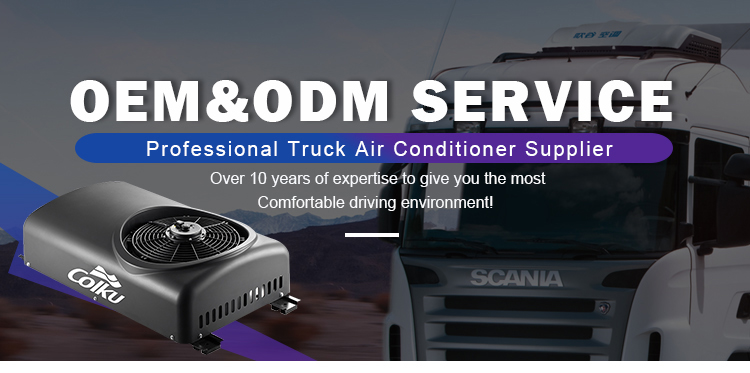 TD-20RF 24V Dc Mini Parking Portable Truck Air Conditioner