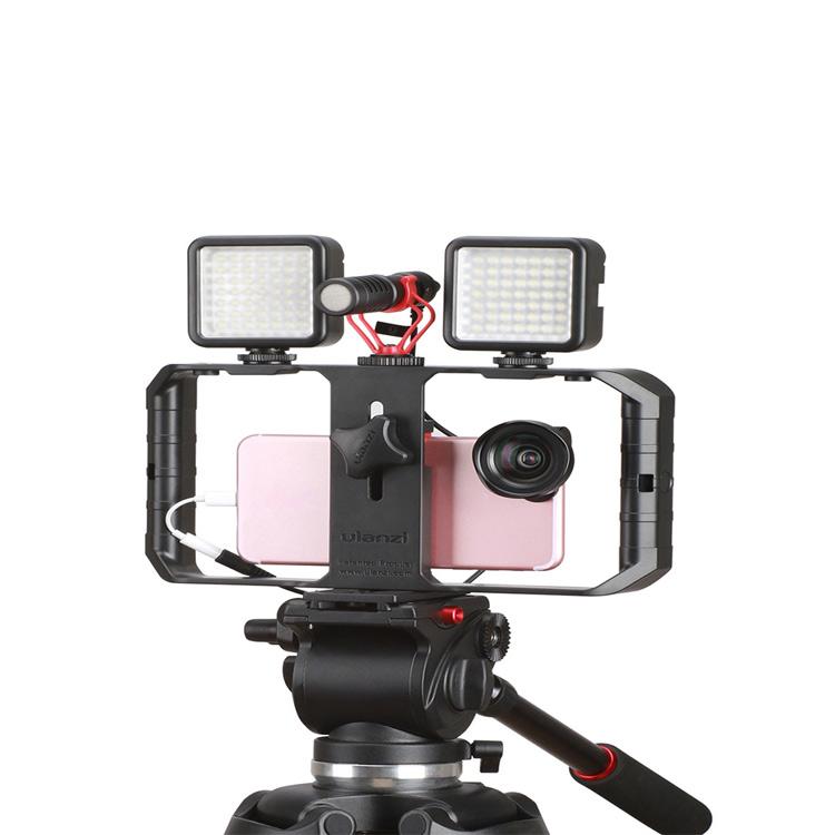Ulanzi U-Rig Pro Universal Smartphone Video Rig Kit Smartphone Filmmaker Cage 3 Shoe mount