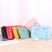 High quality women ladies coin card organizer pouch cheap coin purse card holder cheap price