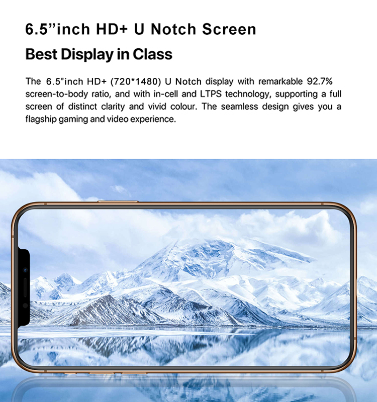 Hohe kosten 6,5 zoll full screen android handy und günstige 8gb ram 512gb rom smart handy