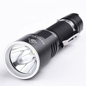 Tank007 USB waterproof torch light 18650 emergency super bright torchlight tactical flashlight rechargeable LED torch