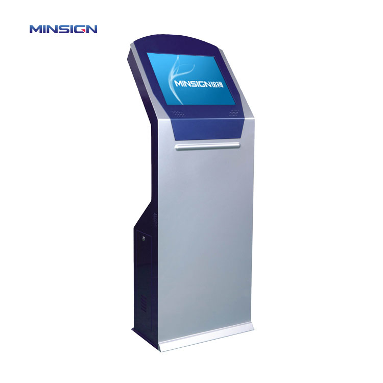 Customized Payment Terminal Touch Screen POS system Ticket Printing Kiosk All In One Self Service Machine