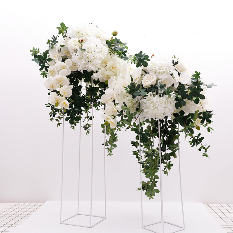 A-484 Artificial Wedding Centerpiece White Butterfly <strong>Flower</strong> For Wedding Road Lead Decoration