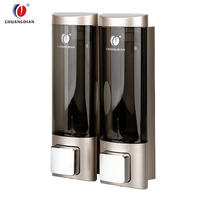 Chuangdian Refillable ABS shampoo Hotel wall modern Liquid Soap Dispenser CD-2013