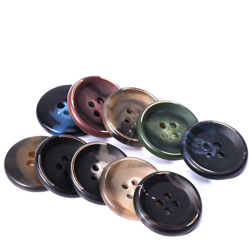 Handmade art <strong>button</strong> 4 holes round <strong>buttons</strong> for clothes suit coat Commonly used <strong>button</strong> <strong>Factory</strong> wholesale in Guangzhou