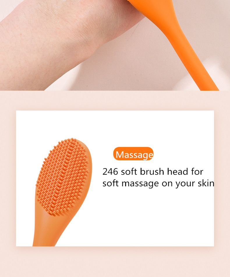 Hot Massage Mask Applicator Brush Cosmetic Tools Makeup Mask Brush Silicone Facial Mask Brush