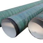 SS400 steel pipe with underground Glass Fiber Reinforced coating