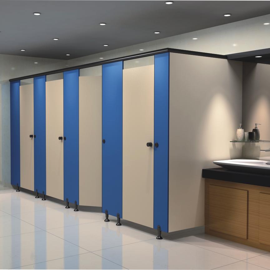wood board waterproof cubicle toilet door