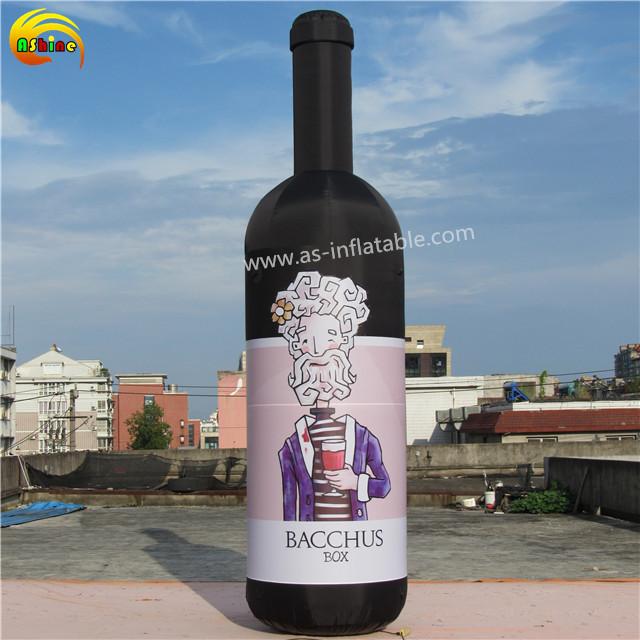 Disesuaikan iklan anggur inflatable model untuk dijual