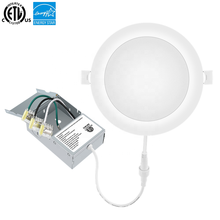 CETLus 나열 AC90-130V 12W Dimmable Led 패널 빛 정션 박스
