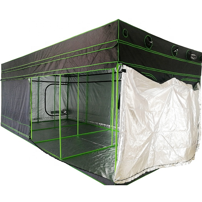 20'x10' 600*300*210/240cm Customized Large Grow Tent with Extensive Kit, Height Extendable Indoor Grow Room