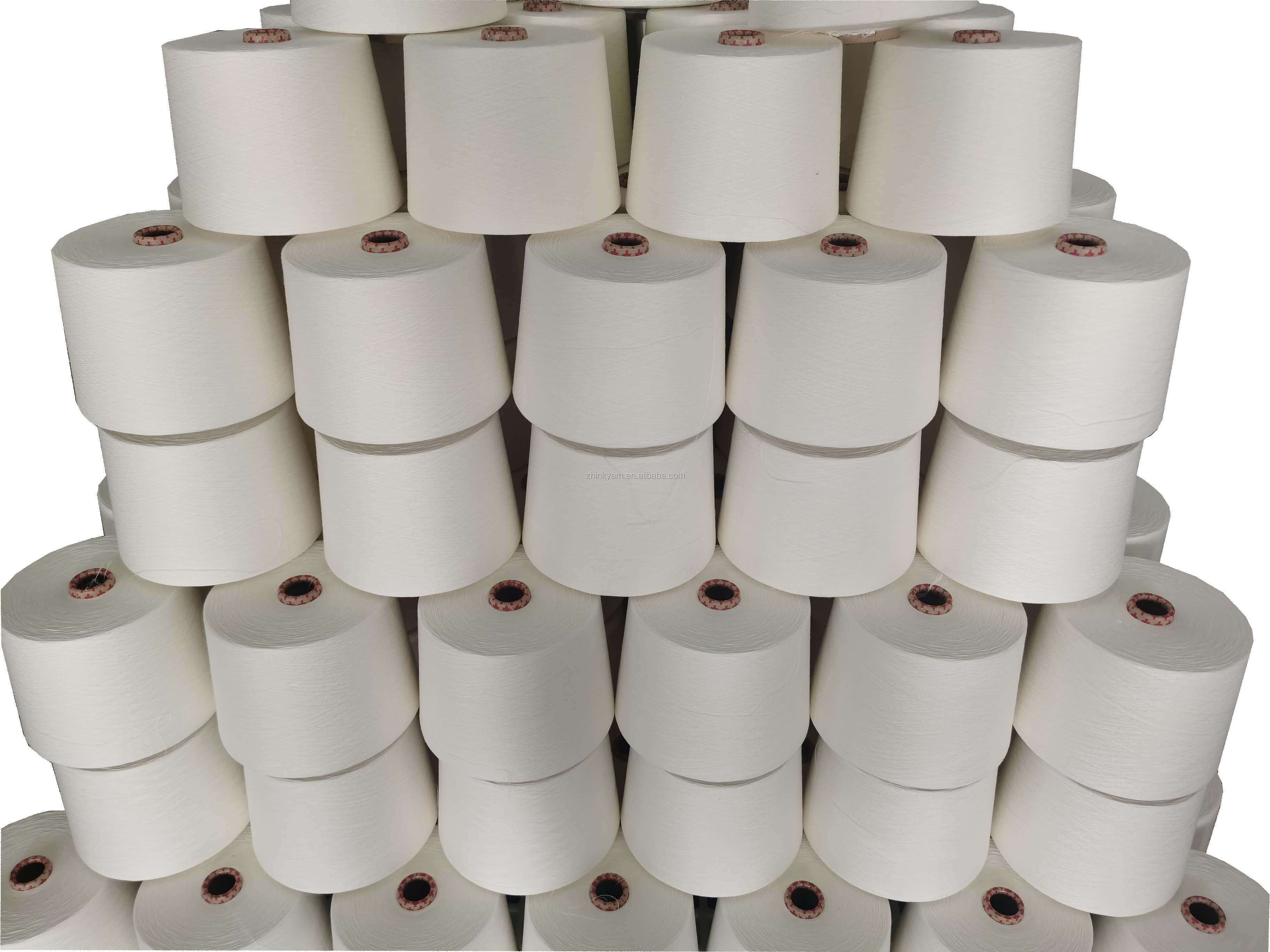Modal yarn 100% Lenzing Fine Modal(0.9D) Ne60/1 compact siro spun yarn