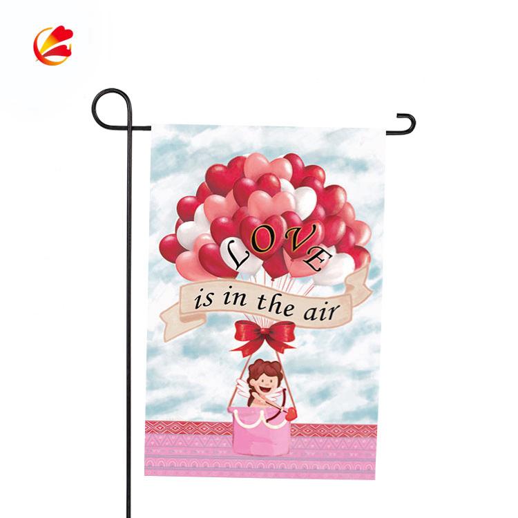 Мануфактура на открытом воздухе металла, мы ответим вам в самый быстрый дешевой цене ко Дню Святого Валентина, Сад Флаг Стенд держатель и флагшток