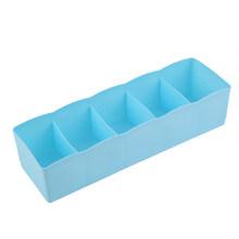 5 сеток пластиковые носки для нижнего белья крошечные вещи коробка для хранения Контейнер отделочная коробка ящик стол кровать шкаф 4 цвета ...(Китай)
