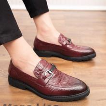 Sooneeya/Мужские модельные туфли без шнуровки, большие размеры 46, Блестящие Формальные кожаные туфли золотого, серебряного цвета, мужские туфли...(Китай)
