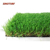 40mm Vivid Color Chinese Landscape Turf artificial Grass For Decoration, Garden