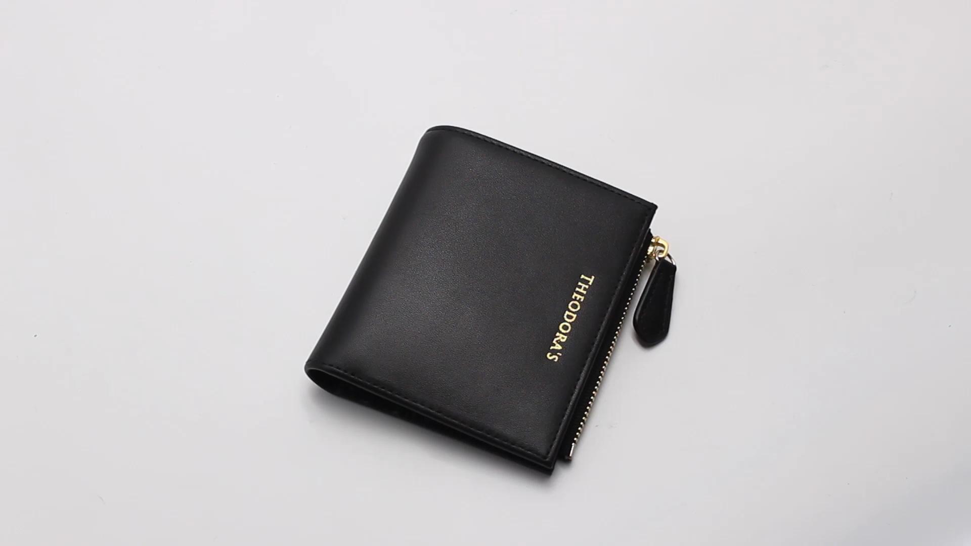 Super dünne echtes leder günstige rfid blocking kreditkarte halter starke elastische magische brieftasche