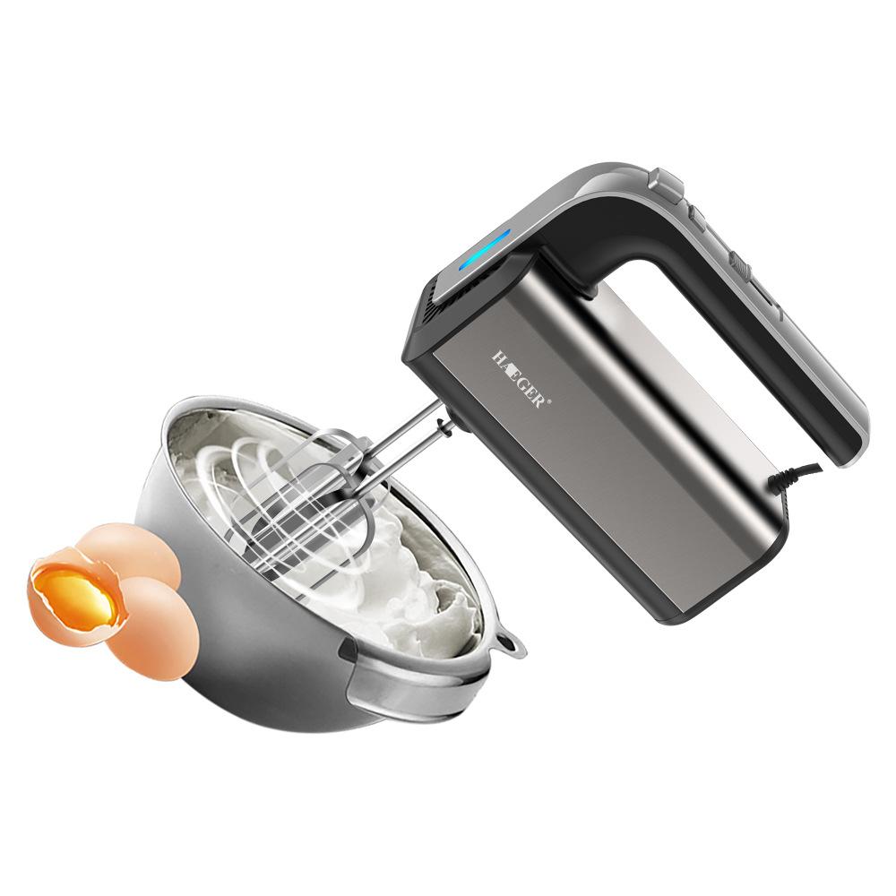 Лучшие продажи нержавеющая сталь ручной роторный взбивалка для яиц Электрический
