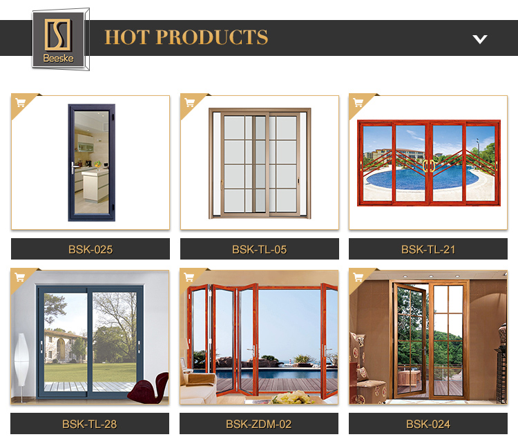 Cheap Price Sale Modern Commercial Used Sound Proof Aluminum 4 Panel Sliding Glass Doors