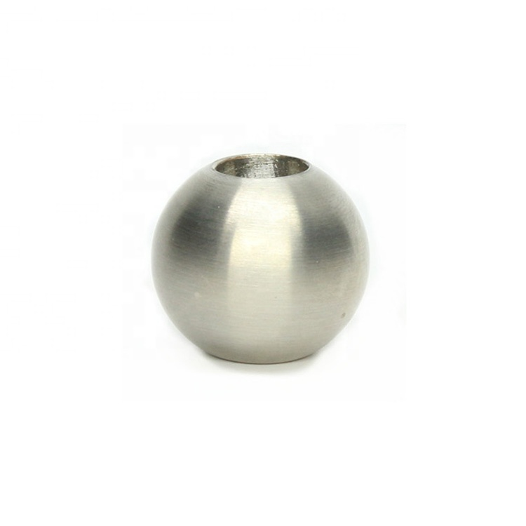 SS304/SS316 safety M8 thread stainless steel handrail steel ball for stairs